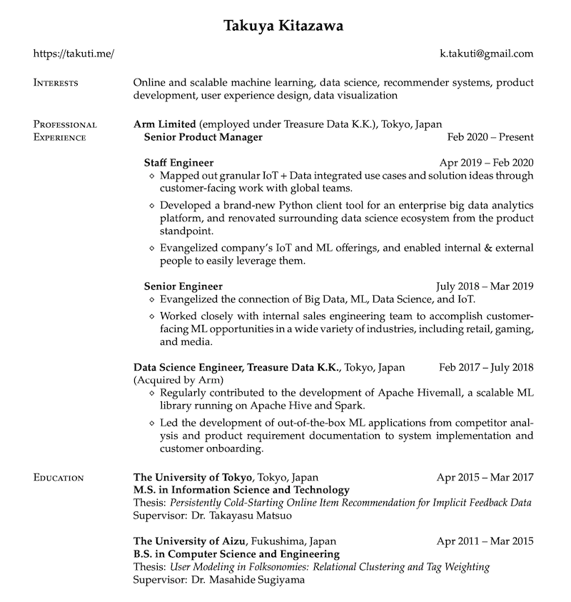 resume-latex